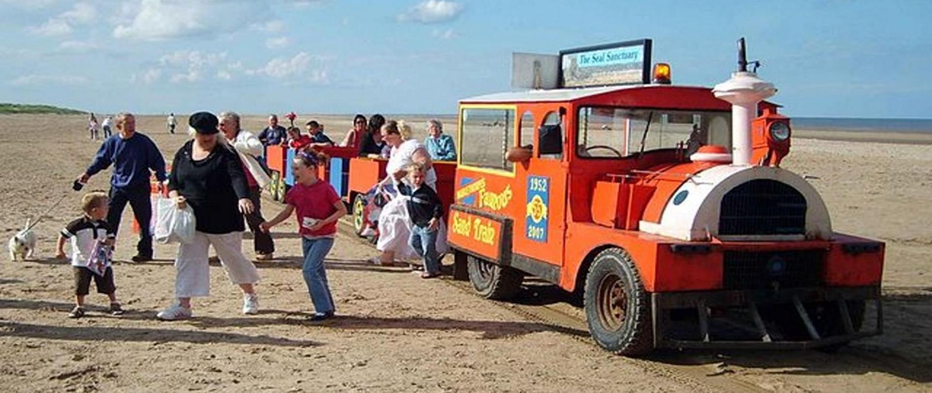 Sand Train in Mablethorpe